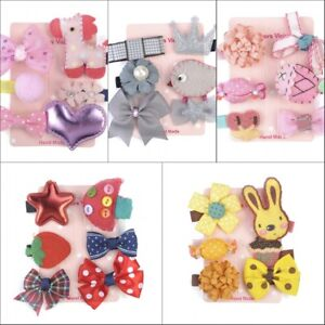 6Pc-Cute-Hairpin-Baby-Girl-Hair-Clip-Bow-Flower-Mini-Barrettes-Star-Kids-Infant