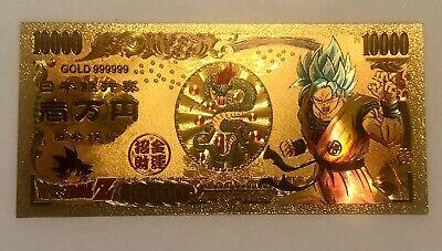 Future Trunks Dragon Ball Z Gold Money Card
