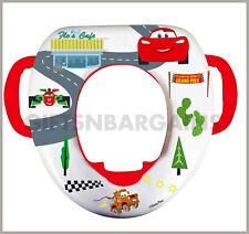 disney cars mcqueen soft potty toilet training seat pad for boys child toddler