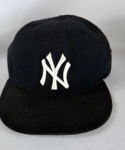 a400d8943ca56 New york Yankees 7 5 8 fitted vintage USA wool 50 50 diamond new era ...