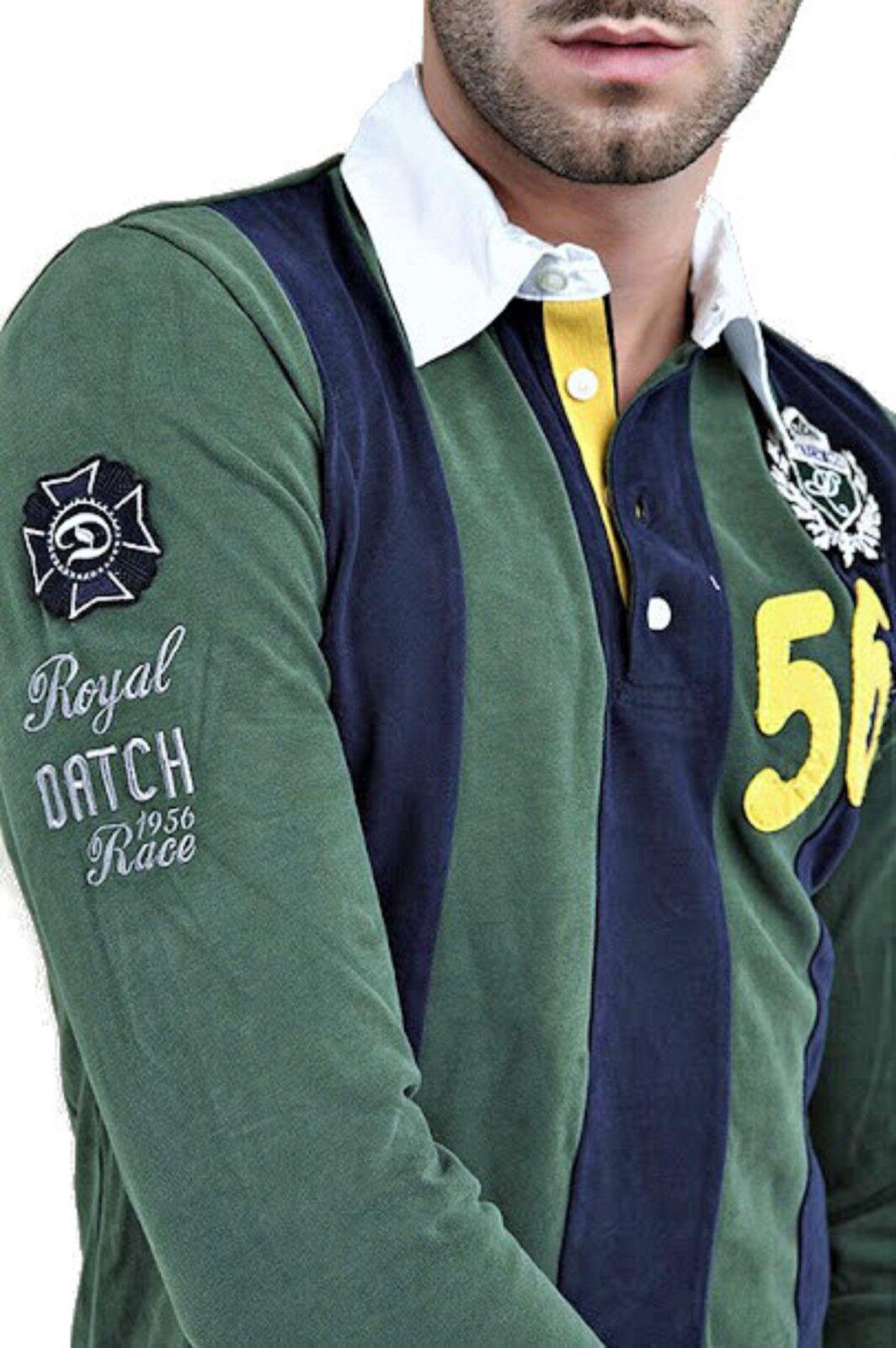 POLO Rugby maglia Datch men Men sotto giacca 4 bottoni ricamo Logo 100% EBeste