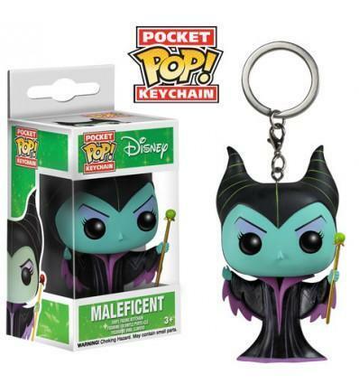 Keychain Disney Portachiavi 4 cm in Vinile Maleficent FUNKO Pocket POP