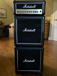 Black Vintage 90s Marshall Lead 15 Micro Stack (LD15MS) Lightly Used