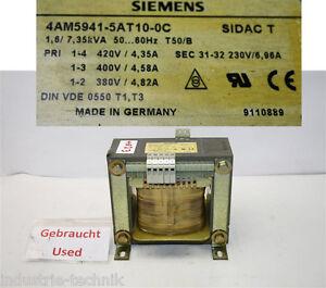 Siemens-Transformateur-7-35KVA-6-96A-Seconde-31-32-230V-4am-5941-5at10-0c