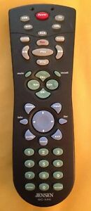 JENSEN-SC-545-SOLE-CONTROL-UNIVERSAL-HOME-THEATER-REMOTE-CONTROL-TESTED