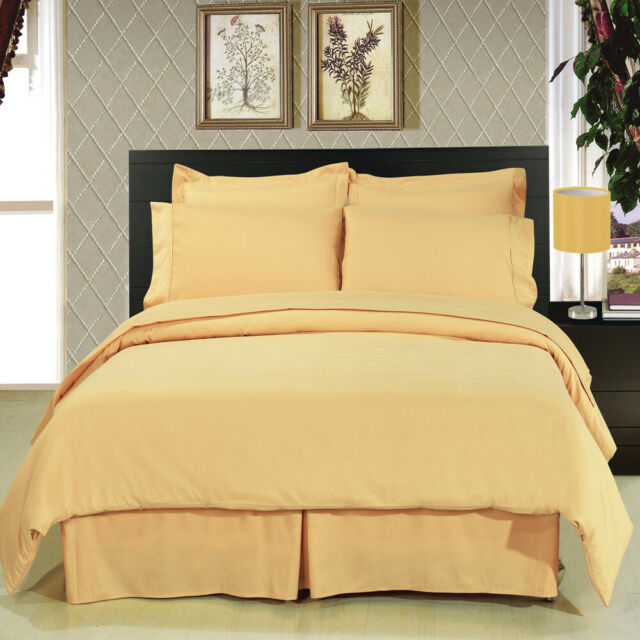 8pc Luxury Super Soft Brown Duvet Cover /& Comforter AND //Microfiber Sheets