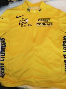 Image is loading Nike-Tour-De-France-Official-Yellow-Cycling-Jersey- 84b1700d3