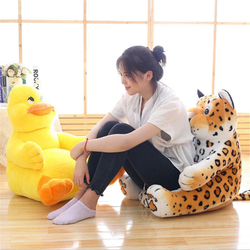 Bébé animal en forme de chaise ultra doux Nursery mobilier de grands Cadeaux pour enfant peluche