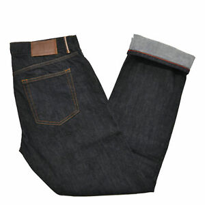 Tommy-Hilfiger-Mens-Jeans-Straight-Leg-Selvedge-Flag-Logo-Denim-Pants-Bottom-New