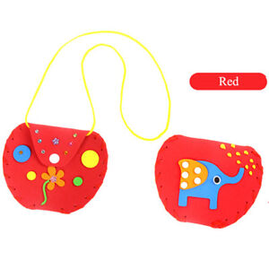 Creative-Kids-Children-DIY-Wallet-Purse-Hand-Crafts-Kits-Puzzle-Educational-Toys