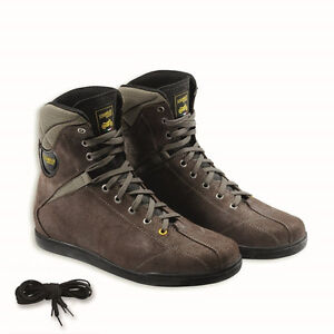 476ff7dc3d518 Details about Ducati Scrambler Cross Country Technical Motorcycle Boots  Brown by TCX 9810313