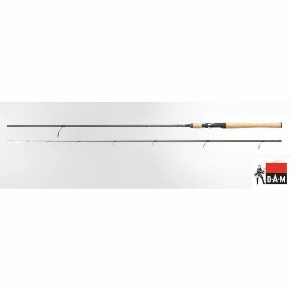 DAM Whisper Ultra Light   Light Jig Fishing Spinning Rod 1.90m - 2.70m Various S