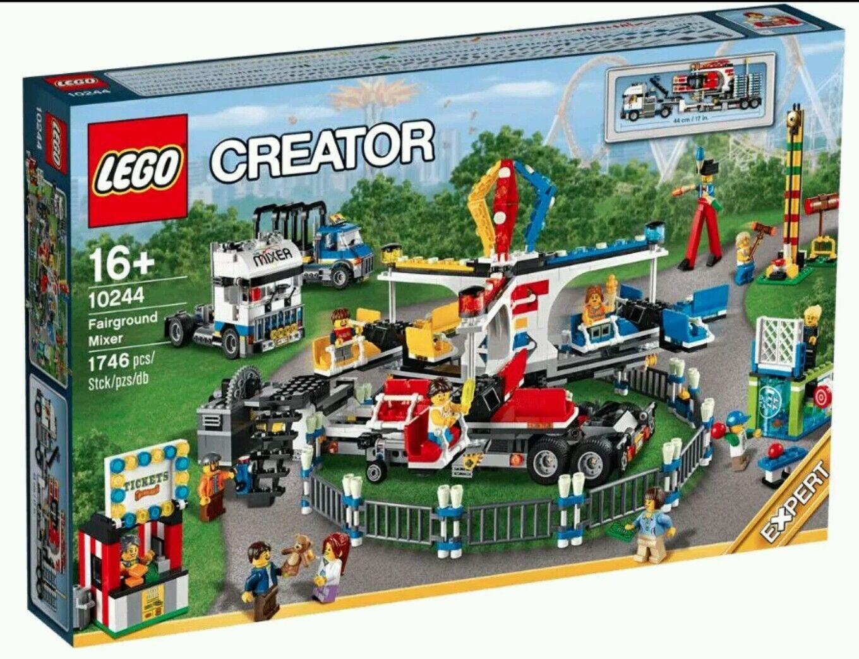 marche online vendita a basso costo LEGO CREATOR CREATOR CREATOR 10244 anno di guida Mercato autobusiness Nuovo Scatola Originale Plus Motore batteriescatola  alta qualità generale