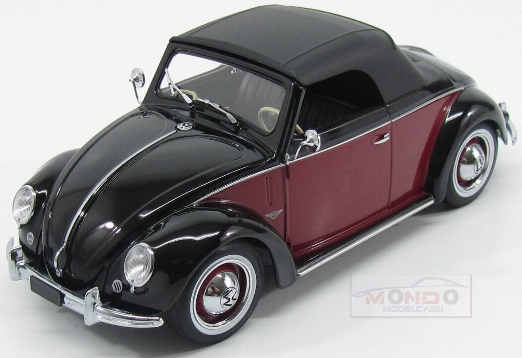 Volkswagen Beetle 1200 Cabriolet Hebmueller 1949 KK Scale 1 18 KKDC180112