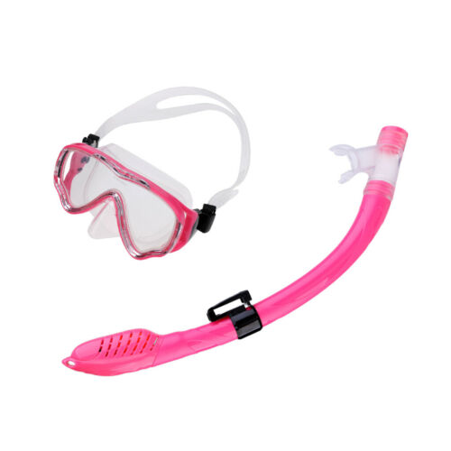 Kids Scuba Diving Snorkel /& Mask Set Water Goggles Snorkeling Swimming Kit
