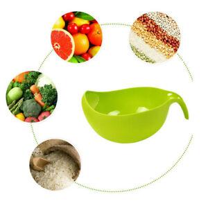 Vegetable-Food-Fruit-Drain-Basket-Bowl-Washing-Kitchen-Strainer-Holder-Storage