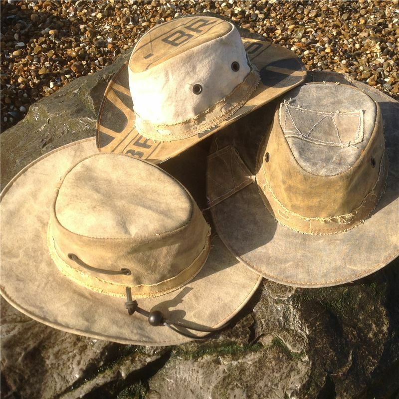 Fishing Hat  Hiking Hat Bush Hat- Country Hat - Hand Made in Brazil 6 SIZES