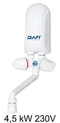 monophasé Chauffe-eau électrique instantané DAFI 3,7 kW 230V !, connecteur