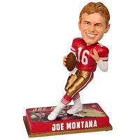 2016 Joe Montana San Francisco 49ers Retired Nfl Player Bobblehead Doll