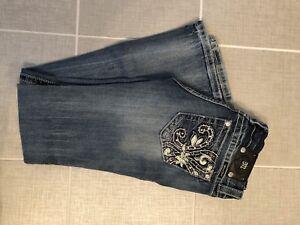 Miss Jeans Size 28 Boot Women 34 Blue Actual Me Inseam fqwfUTr