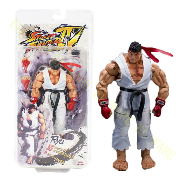 Neca Street Fighter Iv Capcom Survival Mode Ryu Character 7 18 Cm Action Figure