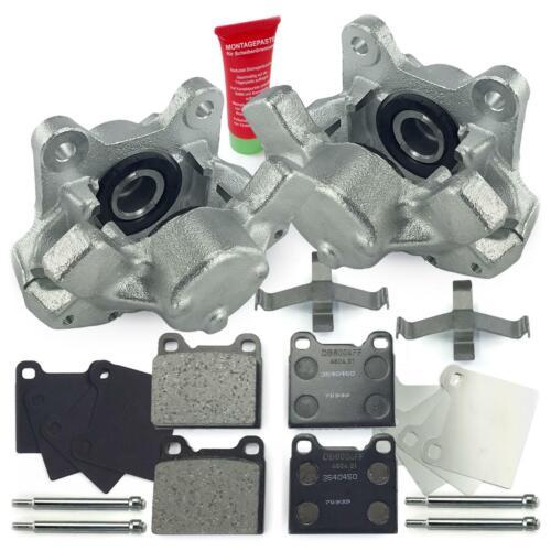 Bremssättel Bremszangen 38mm Bremsbeläge hinten Volvo 740 760 940 II 960