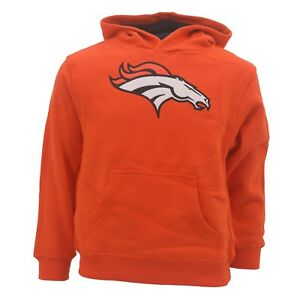 wholesale dealer 0a3b1 db6dd Details about Denver Broncos Youth Kids Size NFL Official Hooded Sweatshirt  New With Tags