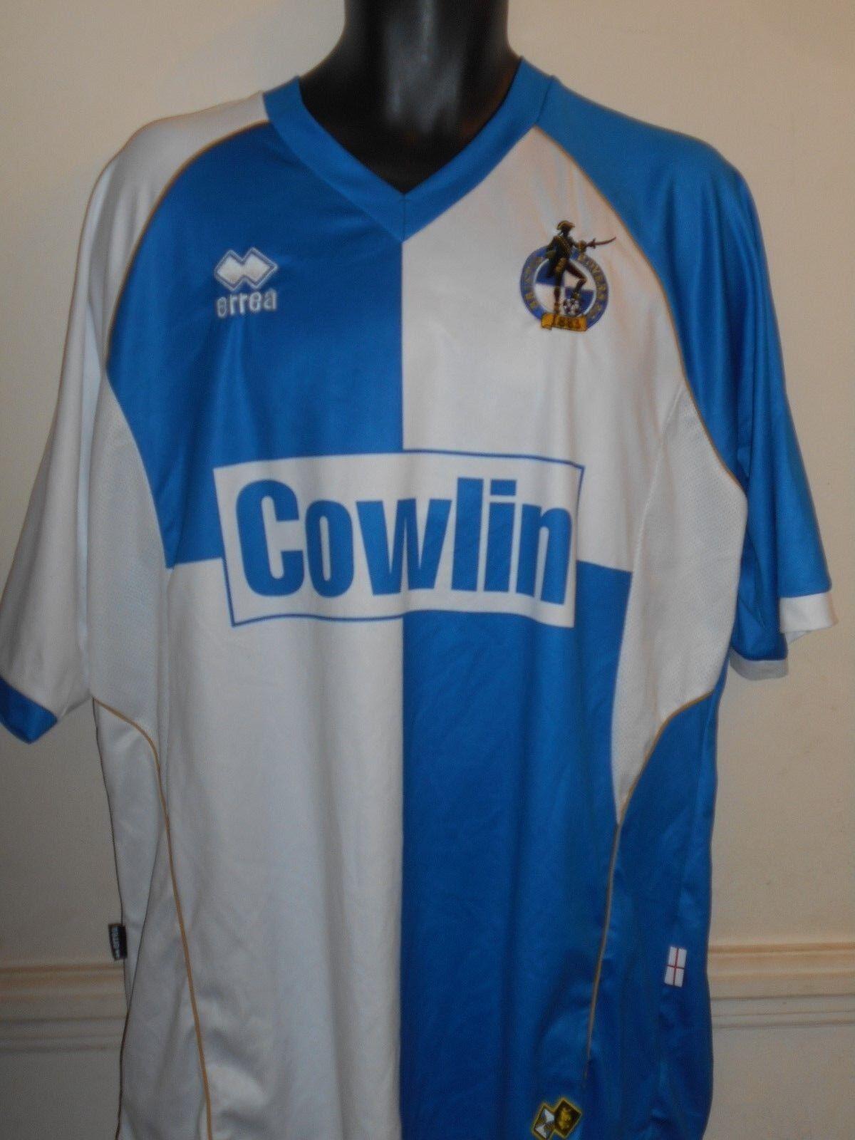 Bristol Rovers Home Shirt 20082009 XXXL uomo  894
