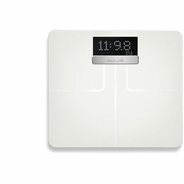 Garmin inteligente biométrico Balanzas-Index blancoo