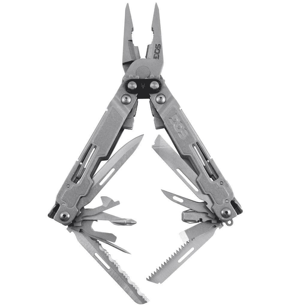 SOG  PowerAccess Deluxe MultiTool Stonewash Stainless Steel PA2001  online shop