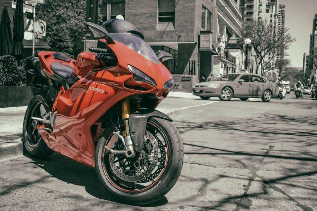 Ducati 1098S Motorcycle Motorbike 24x36 Art Poster