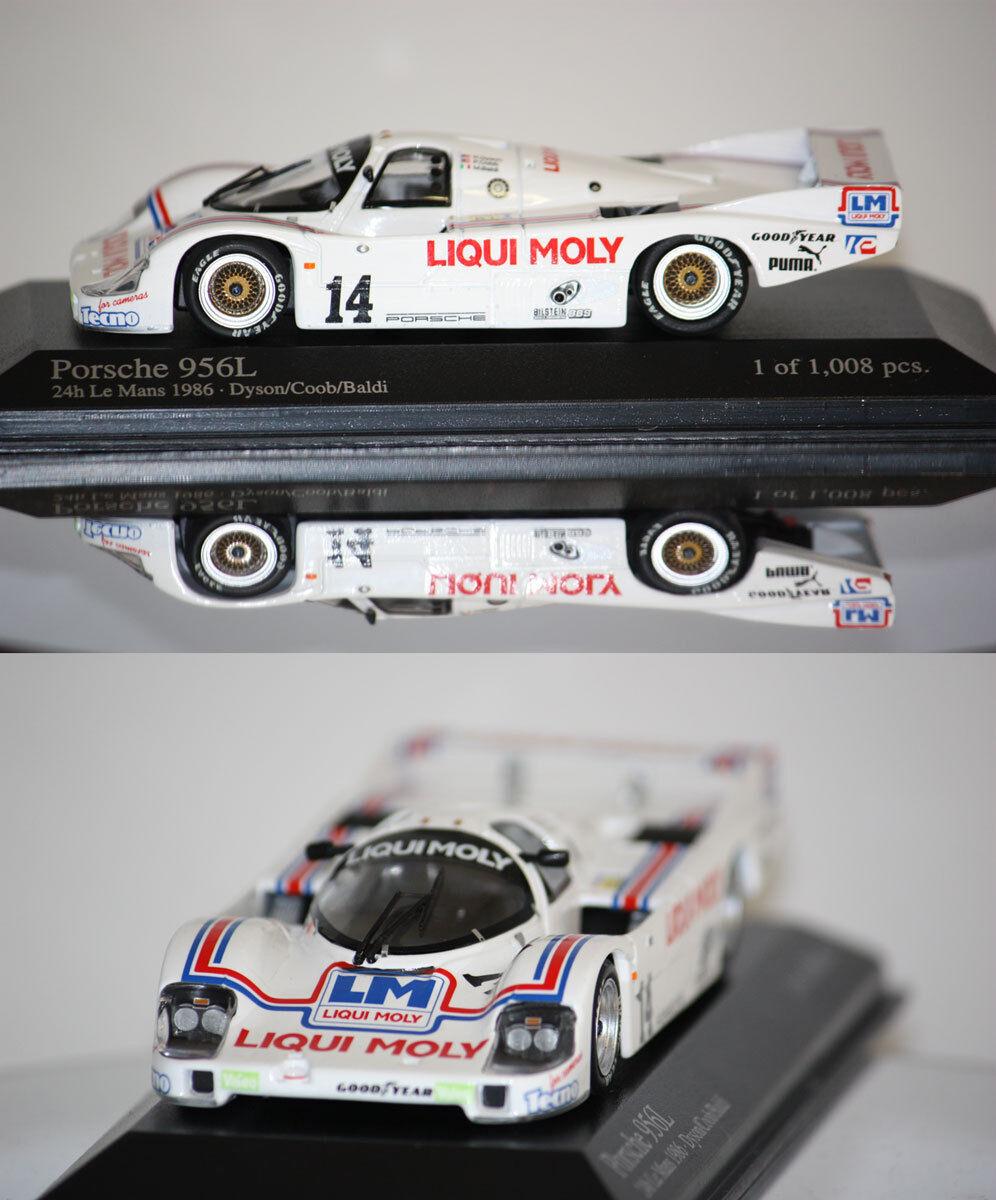 Minichamps Porsche 956L 24h du Mans 1986 1 43 430866514