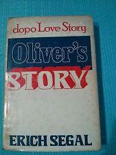 ROMANZO CONTEMPORANEO: OLIVER'S STORY di ERICH SEGAL - CDE 1978