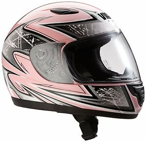kinder motorradhelm integralhelm rosa silber sa03 pk gr e. Black Bedroom Furniture Sets. Home Design Ideas