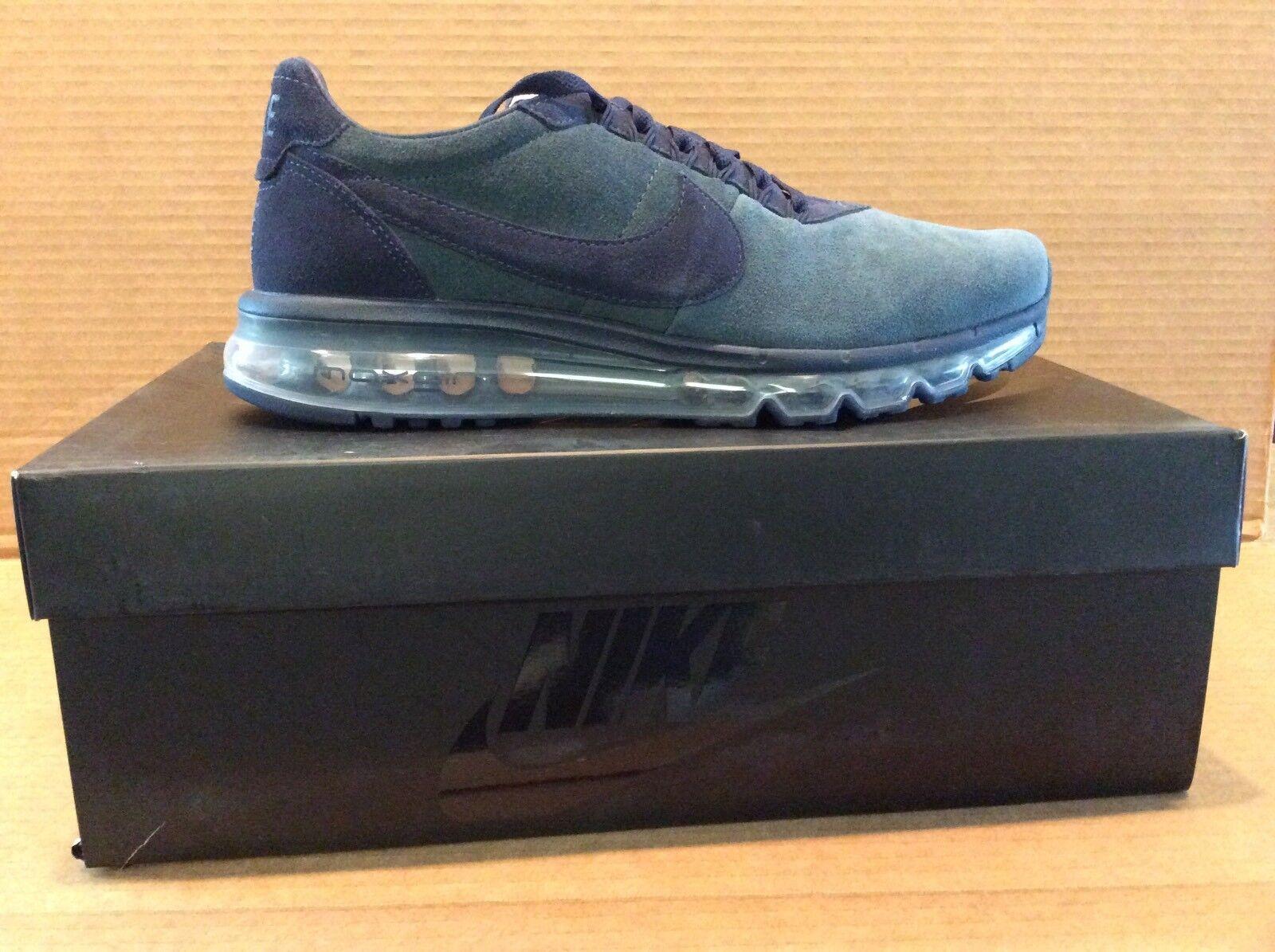 Nike air max: grigio zero dimensioni 10,5 nero grigio max: scuro / nero a9d919