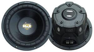 Lanzar-MAXP154D-Max-Power-2000W-RMX-1000W-Subwoofer-SPL-38cm-380mm