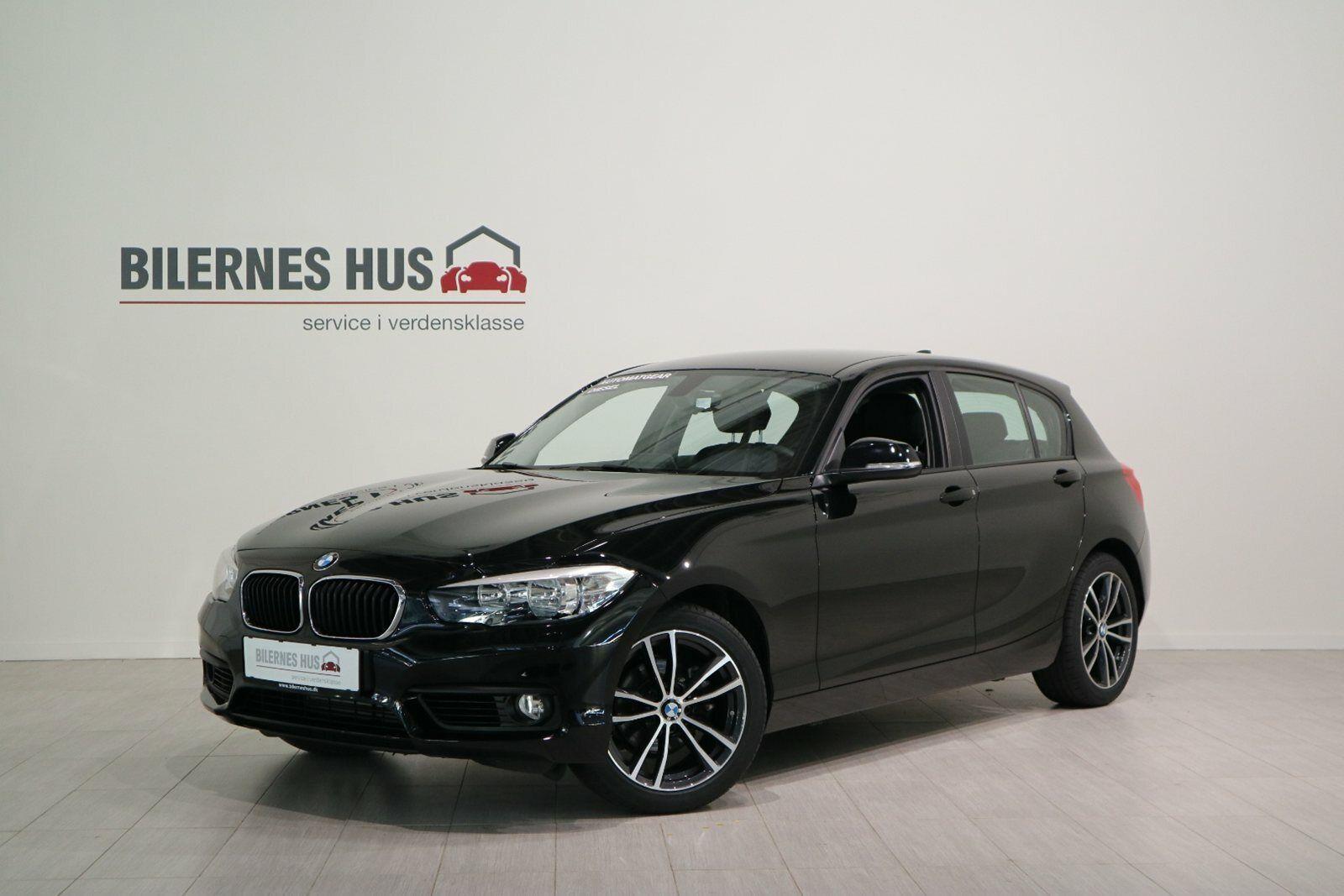 BMW 118d 2,0 aut. 5d - 253.880 kr.