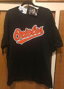 New-MENS-XL-Vtg-MLB-Baltimore-Orioles-21-Sammy-Sosa-Majestic-Sewn-T-Shirt-USA