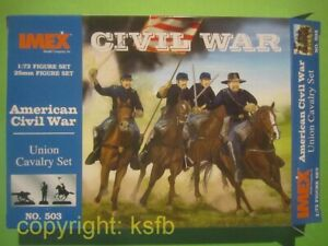 1-72-Imex-503-US-Buergerkrieg-ACW-Yankees-Nordstaatler-Union-Kavallerie-Custer