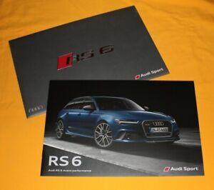 Audi-RS6-Avant-Performance-2015-Prospekt-Brochure-Depliant-Catalog-Folder