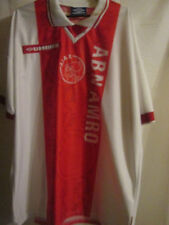 Ajax 1997-1998 Match Worn Home Football Shirt Size Extra large /15426