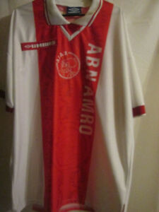 Ajax-1997-1998-Match-Worn-Home-Football-Shirt-Size-Extra-large-15426