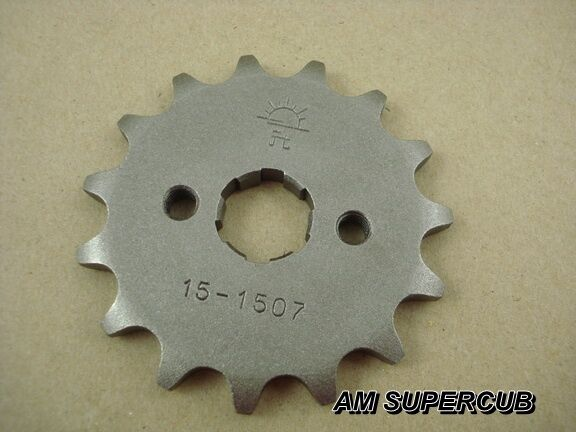 HONDA CHALY 70 CF50 CF70 DAX CT70 ST70 ST50 Z50A Z50 Front Sprocket 15T 15 teeth