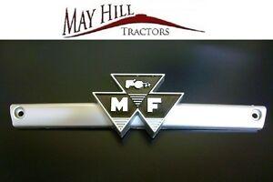 Massey-Ferguson-100-Series-135-148-165-178-188-Tractor-Front-Emblem-Badge-Bar