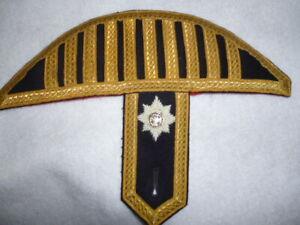 Irish-Guards-Bandsman-039-s-Swallow-Nest-Epaulette-Named
