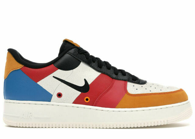 Size 10 - Nike Air Force 1 Low Premium Amber Rise/Black/Imperial ...