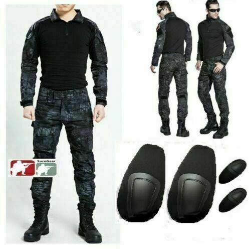 2020 TYPHON Gen3/&G3 Men Combat Camouflage Suit Tactical Airsoft Military Uniform