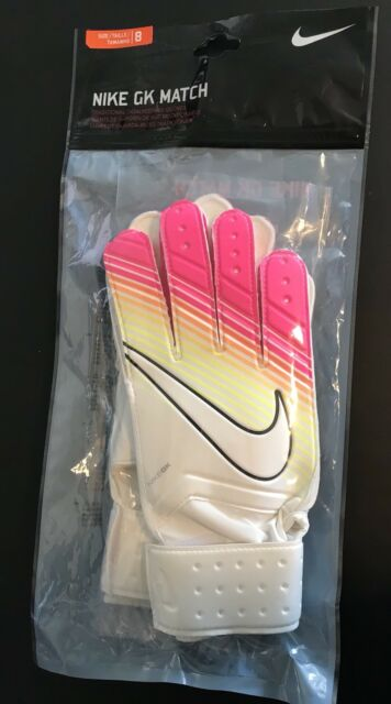 Nike GK Match Men s Women s Unisex Goalkeeping Gloves Size 8 FREE SHIPPING 131b57142