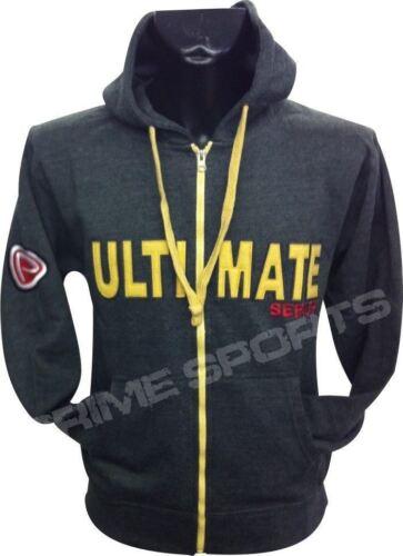 Prime Quality Apparel Sports Flex Fleece Full Zip Hoody Top Hooded Men Charcoal