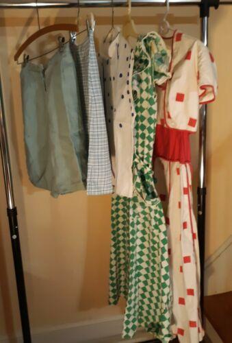 Lot Womens Vintage Clothing PAT PREMO Dress Blouse